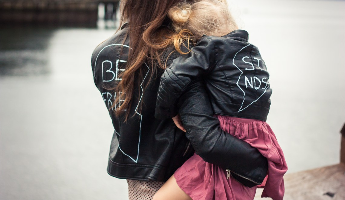 DIY Mommy and Me Matching Best Friends Jackets