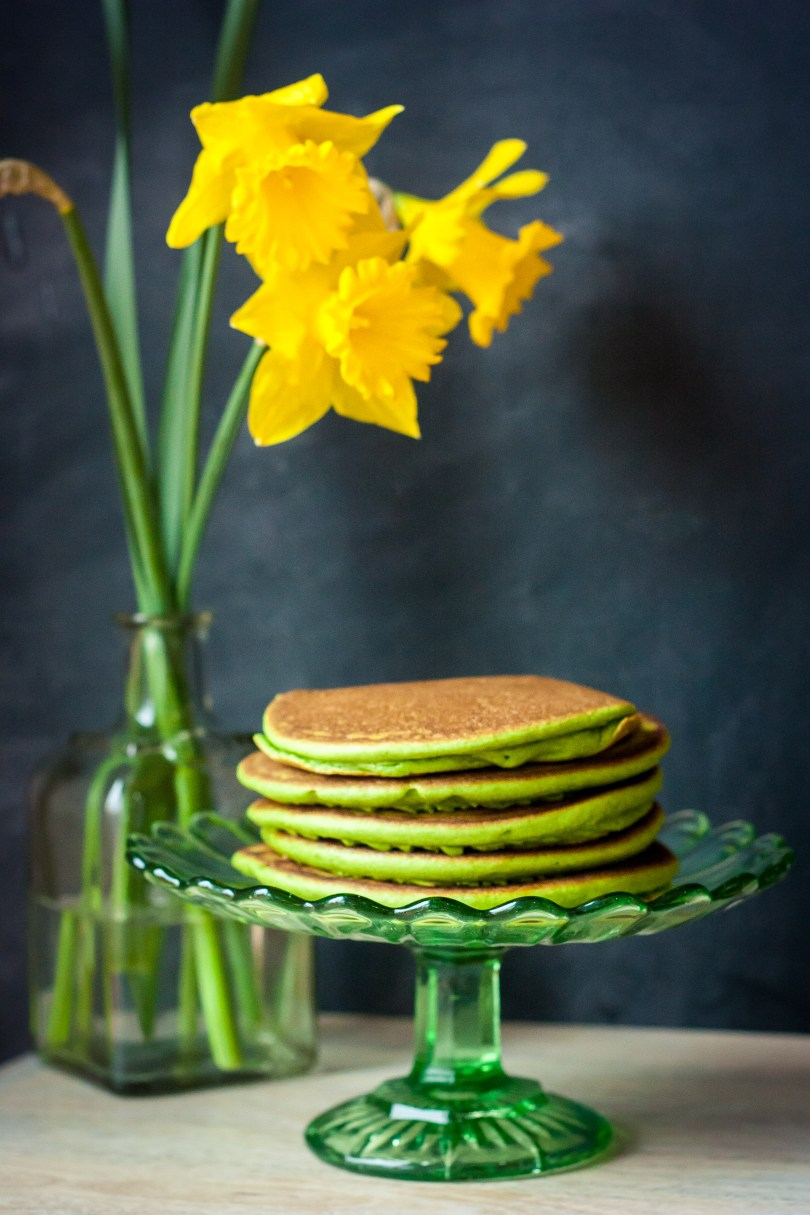 Hide the Vegetables: St. Patrick's Day Green Paleo Pancakes