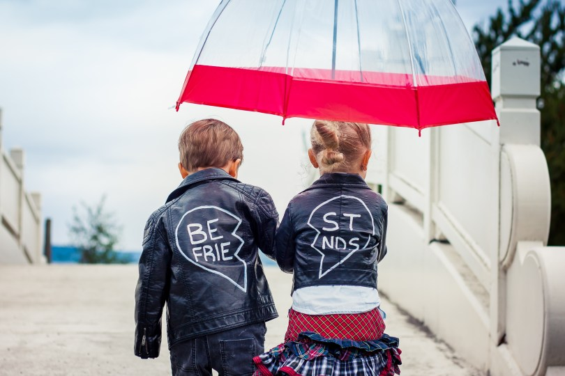 DIY Boy Girl Twins Best Friends Jackets