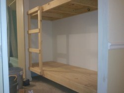 Small Of Built In Bunk Beds