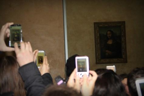 Mona Lisa widziana przez smartfony