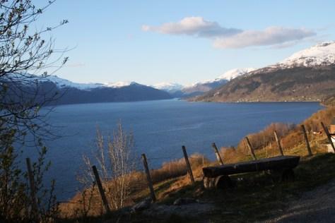 nad Hardangerfjorden
