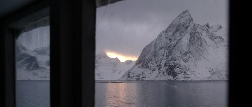 zwyczajny widok za oknem