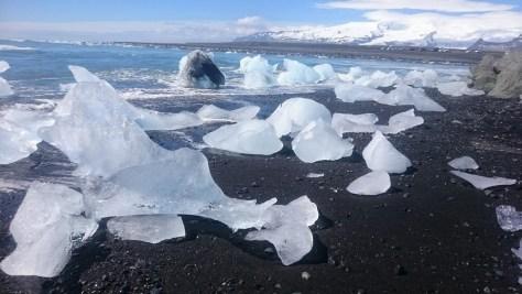 plaża nad Vatnajokull