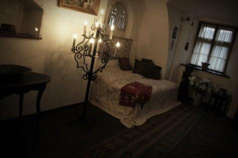 w zamku Drakulii