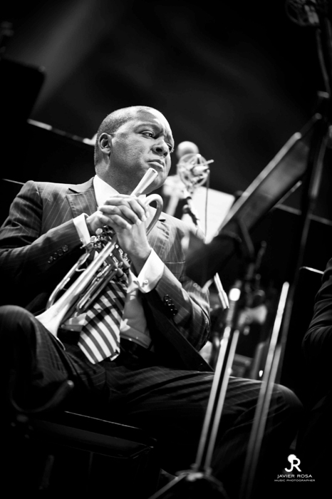 WMarsalis2 JAVIERROSA02   Galería: Wynton Marsalis & The Jazz at Lincoln Centre Orchestra   Fotografía