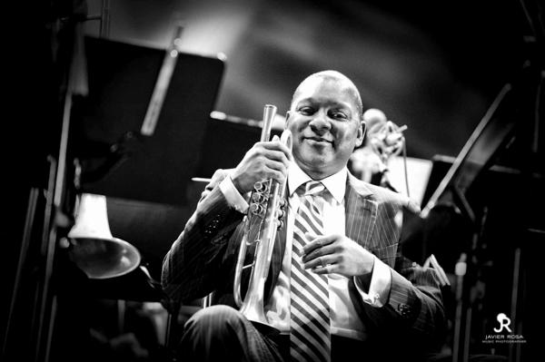 WMarsalis JAVIERROSA09   Galería: Wynton Marsalis & The Jazz at Lincoln Centre Orchestra   Fotografía