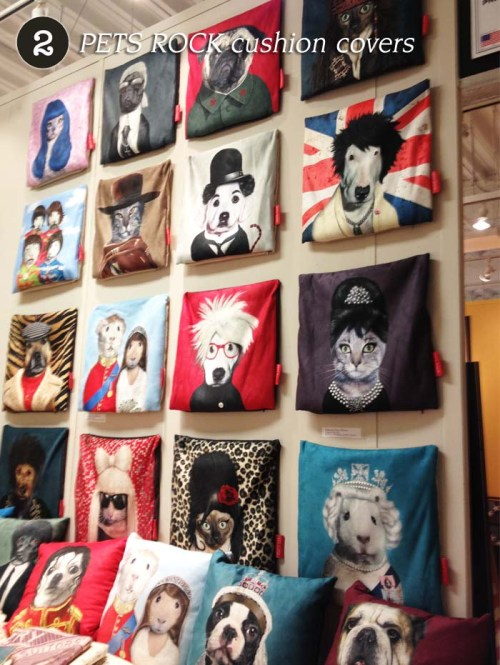 PETS ROCK cushion covers Takkoda