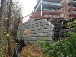 Pavé, pierre et muret