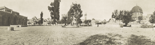 Temple Mount, 1915.