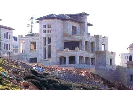 Khalid Abaza's villa in Nablus