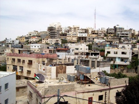 Deheishe refugee camp in Bethlehem
