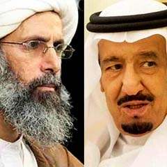 King Salman of Nimr al-Nimr and King Salman of Saudi ArabiaSaudi Arabia