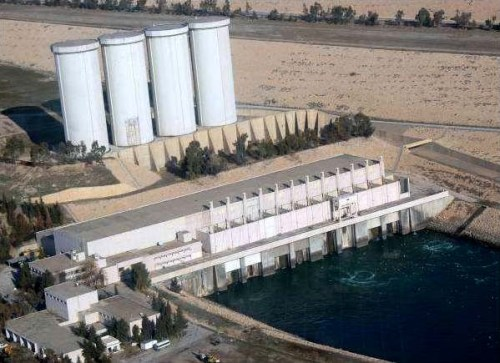 Mosul Dam, largest dam in Iraq