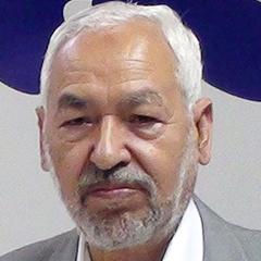 Tunisian Islamist leader Rached Ghannouchi
