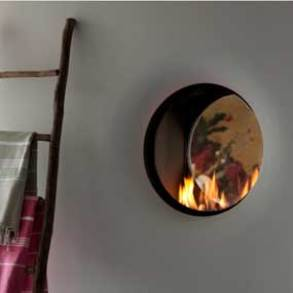 Tulp integrated gas fires