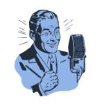announcer-blue