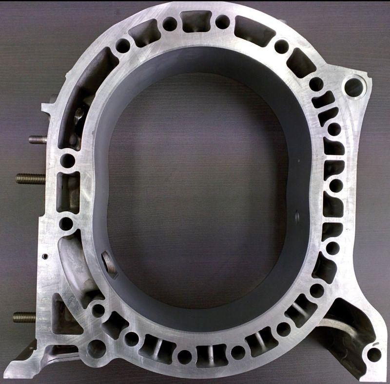 Mazda 13b Rotary Engine: GENUINE MAZDA 13B TURBO ROTARY ENGINE REAR ROTOR HOUSING