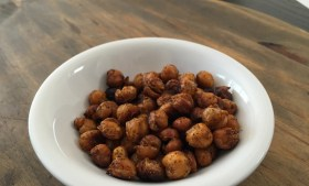 ::Baked Spicy Chickpeas::