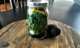 ::Taco Salad w/ Vegan Jalapeño Cilantro Dressing::