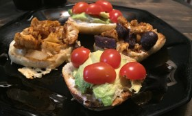 ::Vegan Baked Cauliflower Potato Sliders::