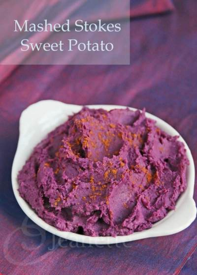 Mashed Stokes Purple Sweet Potatoes Recipe - Jeanette's Healthy Living