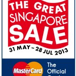 Today marks the beginning of The Great Singapore Sale 2013!