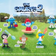 "McDonald's Happy Meal ""The Smurfs 2"" Toys"