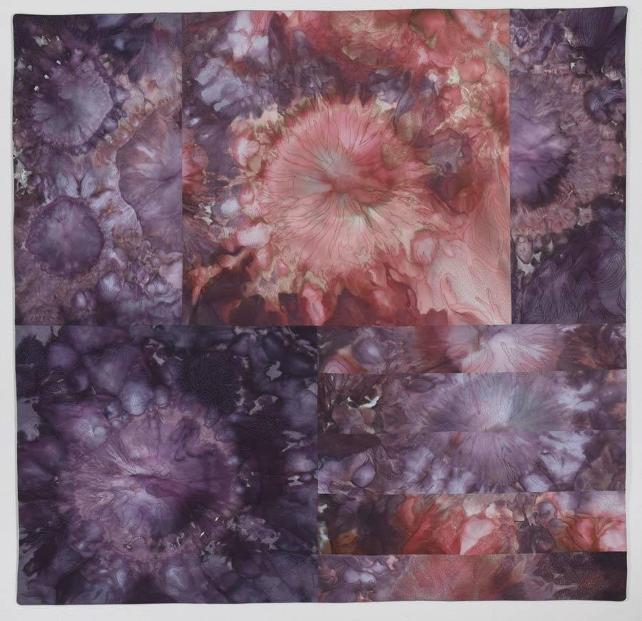 """Marklin Nebula  34"""" h x 35"""" w. , $1200"""