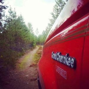 En vg att utforska! jeep jeepclubsweden jcs