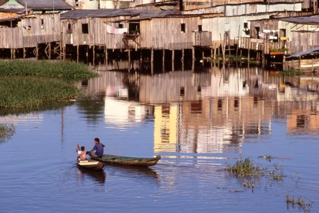 Boys on Their Boats, Manaus