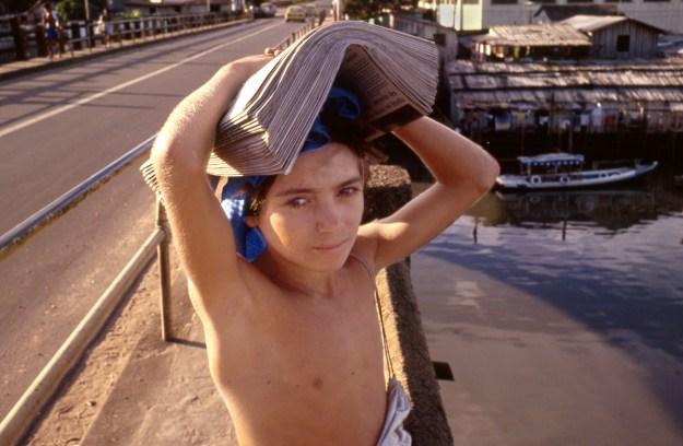 Newsboy in Manaus
