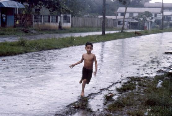 Boy in from Rain, Autazes