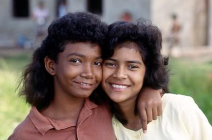 Two Teenage Friends in Manaus