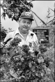 Obdulio Ramos in Rose Garden