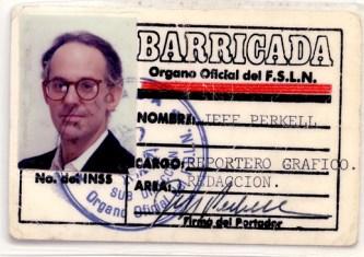 Jeff Press Cards Barricada
