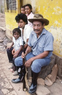Nica Family with Rifle