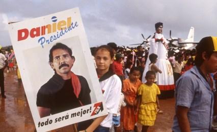 Teenage Miskito Indian Girl at Puerto Cabezas Election Rally