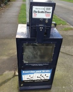 Is The Seattle Times abandoning the streets?