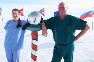 Dr. Sean Roden and Nurse Practicioner Cassie Spurill