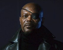 Iron Man movie Samuel L. Jackson as Nick Fury