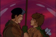 GI Joe cartoon Flint and Lady Jaye