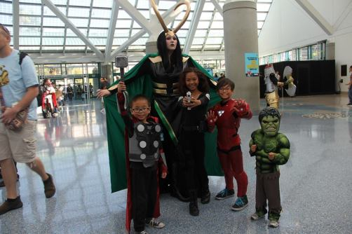 Katieasaur Cosplay with the Young Avengers
