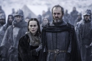 Game of Thrones - S5Ep. 9 - Dance of Dragons -Selyse and Stannis