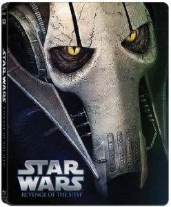 Star Wars steelbook -Revenge of the Sith