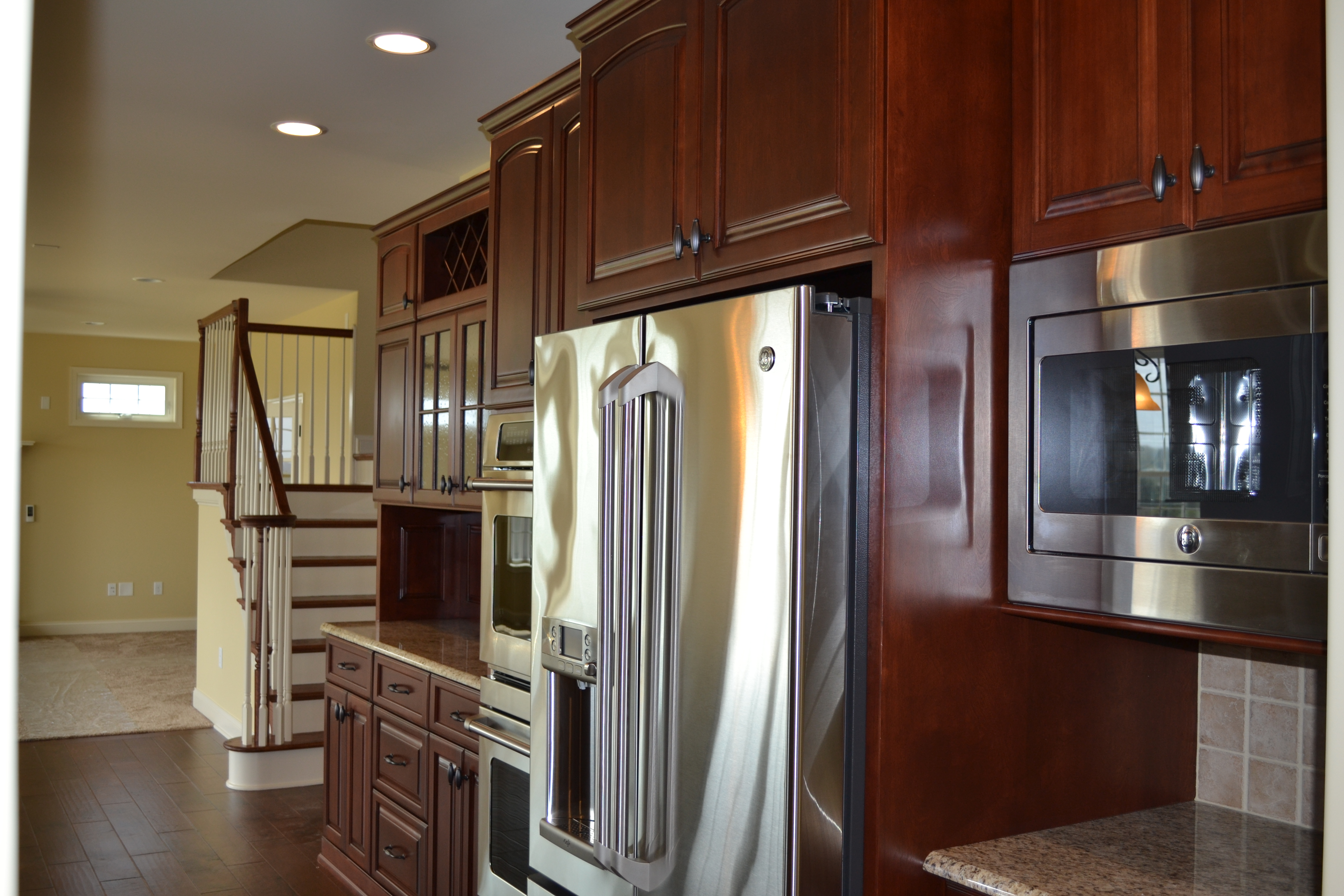 jlh inc custom home 3 kitchen remodeling york pa Custom kitchen in home built by Jeffrey L Henry Inc of York