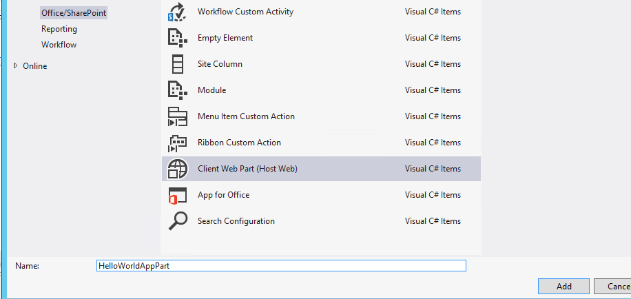 how to create an app in sharepoint 2013