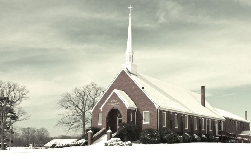 Midway Baptist Church in Old Well, Virginia