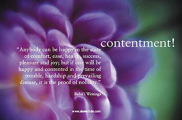 contentment-poet