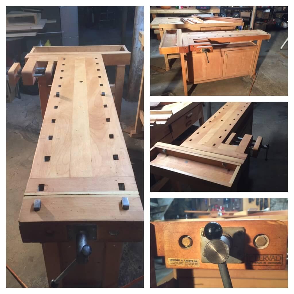 Brief hiatus and new workbench!